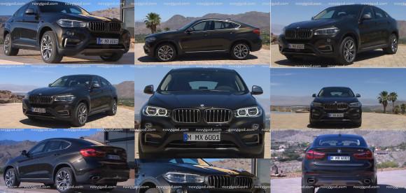 Новый BMW (БМВ) X6 2015 года. Фото и характеристики