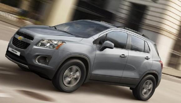 Новый кроссовер Chevrolet Tracker (Шевроле Трекер) 2015 года