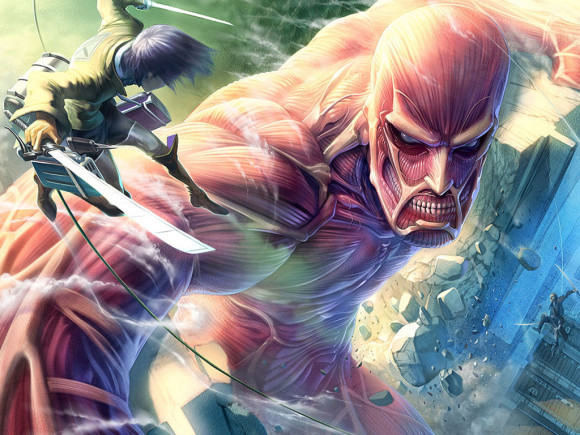 Выход аниме Атака Титанов 2 сезон