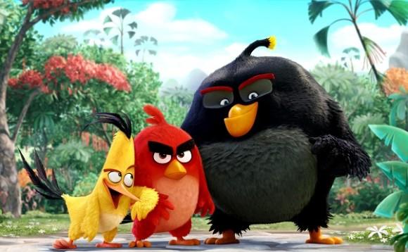 Сердитые птички
