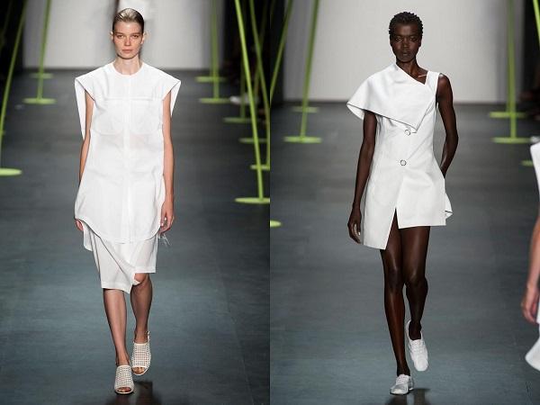 Летом носят белый