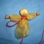 Рождественский ангел своими руками 73