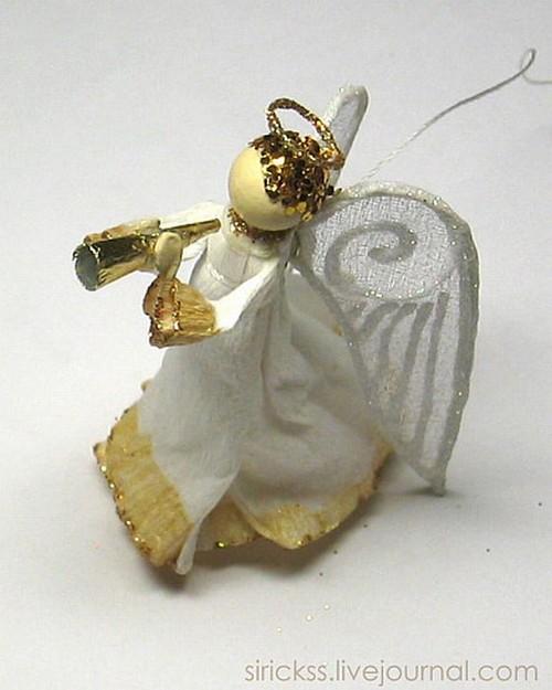 Рождественский ангелок своими руками фото 48