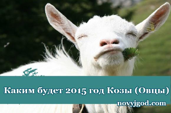 Каким будет 2015 год Козы (Овцы)