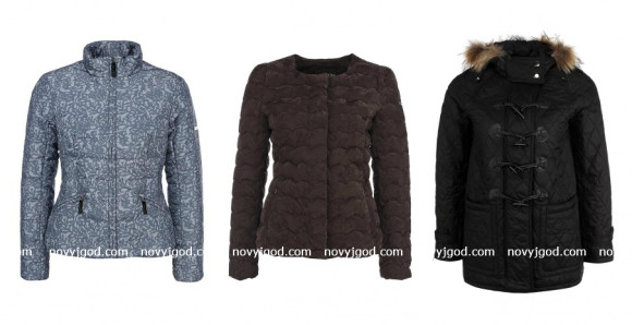 Модные женские пуховики зима 2014-2015 года