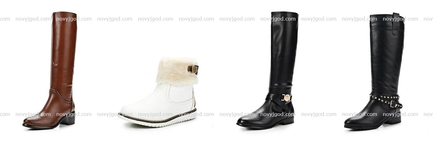 Модные сапоги осень зима