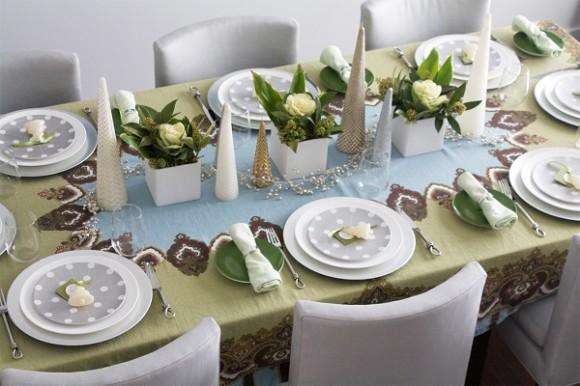 Как украсить стол на Новый год 2015?