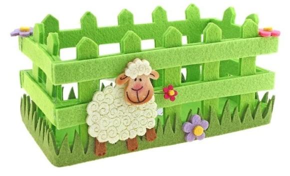 Новогодние поделки в год Овцы своими руками