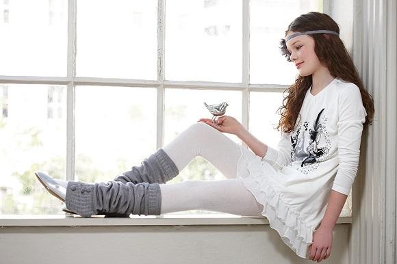 Подарок на Новый год одежда и обувь для девочки