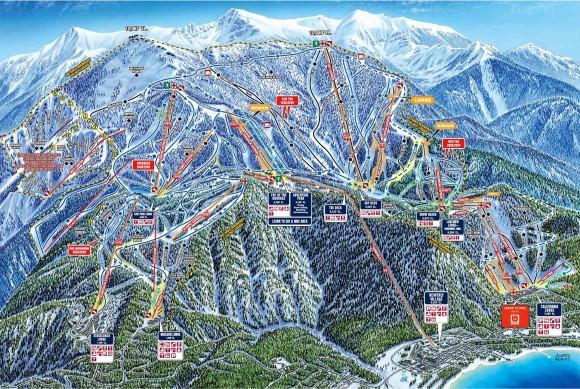 Лучшие горнолыжные курорты Америки