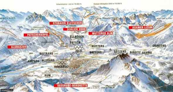 Лучшие горнолыжные курорты Европ
