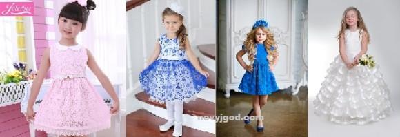 Детское платье на выпускной из сада на 2015 год