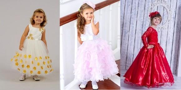 Детское платье на выпускной из сада