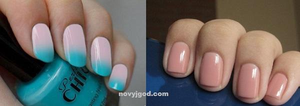 Дизайн ногтей с матовым