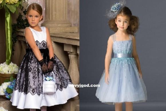 Платья девочкам на выпускной в 4 классе