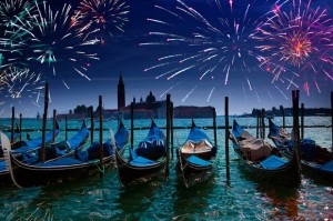 New year in Venice