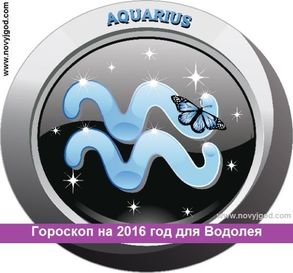 Гороскоп на 2016 год для Водолея