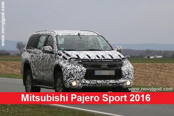 Mitsubishi Pajero Sport 2016