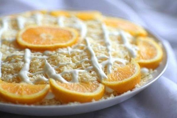Классический рецепт салата Дипломат