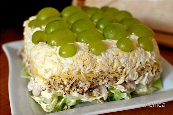 Простой салат тиффани. Легкий рецепт с фото