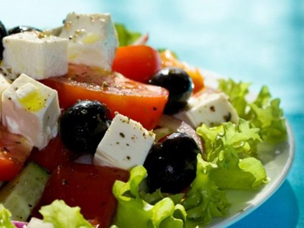 Самый простой рецепт салата Греческий