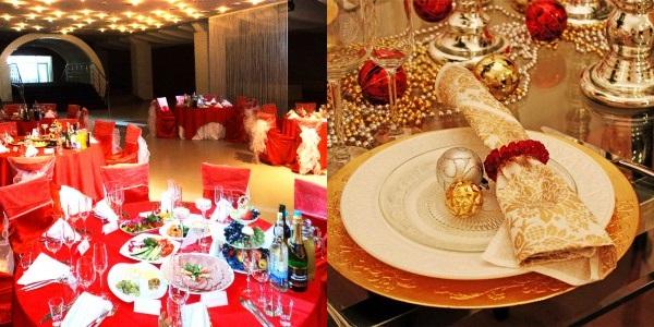 Сервированный новогодний стол 2015-2016