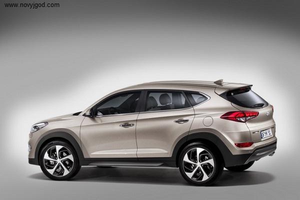 Hyundai Tucson IX35 2016 фото 3 без камуфляжа