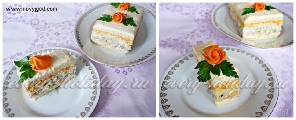 Торт закуска фото рецепт