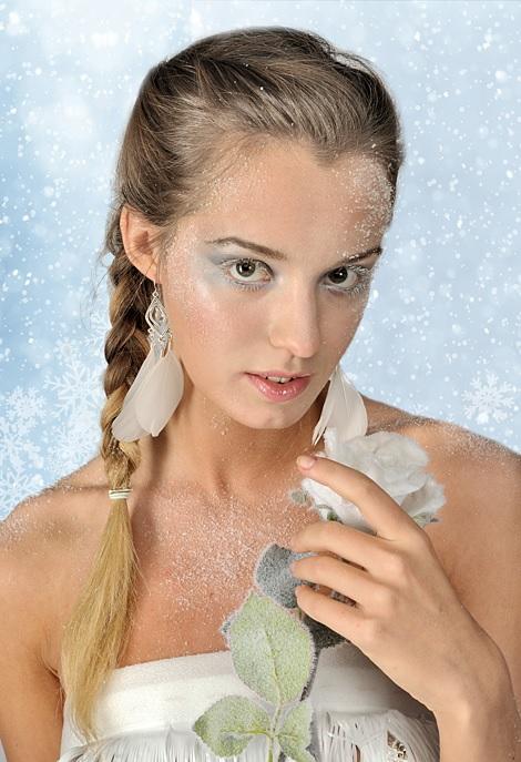 Макияж сказочной Снегурочки и еще несколько образов для праздника