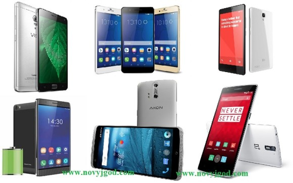 Китайские смартфоны 2016 года