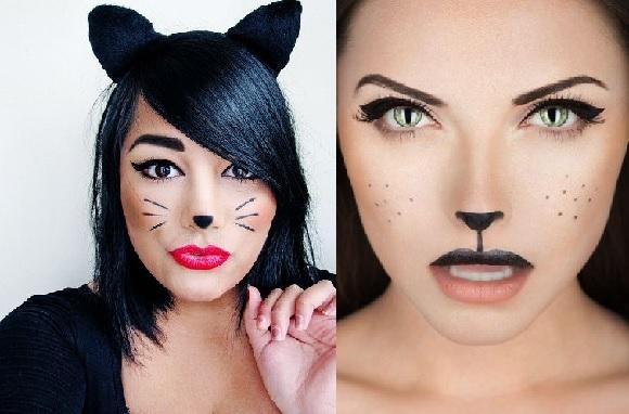 Образ девушки-кошки
