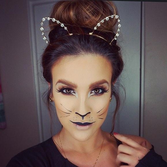 Картинки по запросу макияж кошки глаза