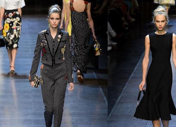 Черные платья Dolce & Gabbana