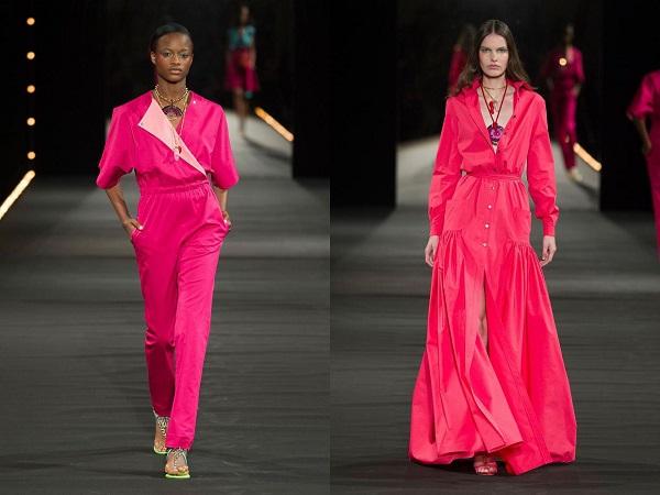Розовая женская летняя одежда